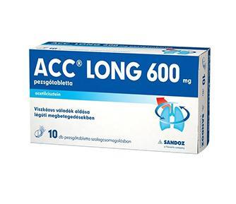 ACC LONG 600 mg pezsgőtabletta