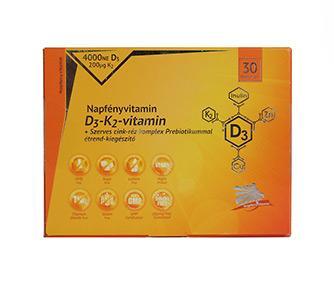 Napfényvitamin D3-K2-vitamin