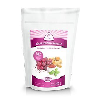 Vörös szőlőmag komplex őrlemény B12 vitaminnal